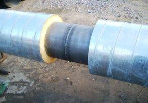 Изоляция стыков труб в ППУ ОЦ изоляции