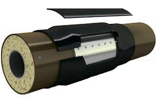 Комплект заделки стыка для труб в металлополимерной изоляции ППУ-СтАП, ППУ-МП, ППУ-СтПЭ